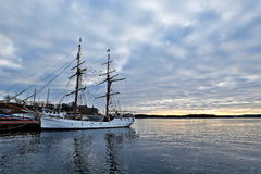 Λιμένας στο Όσλο Στοκ φωτογραφία με δικαίωμα ελεύθερης χρήσης