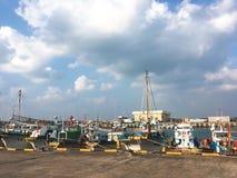 Λιμένας στο jeju-νησί, Νότια Κορέα Στοκ φωτογραφία με δικαίωμα ελεύθερης χρήσης