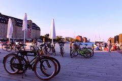 Λιμένας της Κοπεγχάγης Στοκ Εικόνες