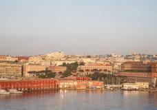 Λιμένας της Νάπολης Στοκ Εικόνες