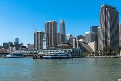 Λιμένας του Σαν Φρανσίσκο, Καλιφόρνια Στοκ φωτογραφία με δικαίωμα ελεύθερης χρήσης