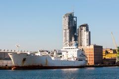 Λιμένας του Gdynia Στοκ εικόνες με δικαίωμα ελεύθερης χρήσης