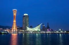 Λιμένας του Kobe στην Ιαπωνία Στοκ φωτογραφία με δικαίωμα ελεύθερης χρήσης
