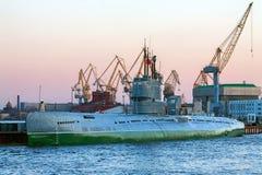 Λιμένας, υποβρύχιο Στοκ εικόνες με δικαίωμα ελεύθερης χρήσης