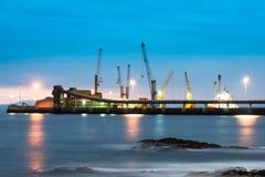 Λιμένας Antofagasta Στοκ φωτογραφία με δικαίωμα ελεύθερης χρήσης