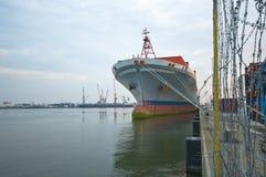 Λιμένας Antwerpen Στοκ Φωτογραφίες