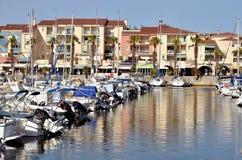 Λιμένας argelès-sur-Mer στη Γαλλία Στοκ φωτογραφία με δικαίωμα ελεύθερης χρήσης