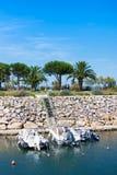 Λιμένας argeles-sur-Mer Πυρηναίο-Orientales στο τμήμα, περιοχή του Λανγκντόκ-Ρουσιγιόν, έτσι Στοκ φωτογραφία με δικαίωμα ελεύθερης χρήσης