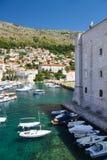 Λιμένας Dubrovnik στοκ εικόνες