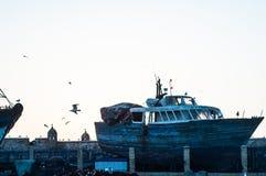 Λιμένας Essaouira Στοκ εικόνα με δικαίωμα ελεύθερης χρήσης