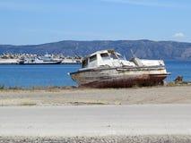 Λιμένας Kissamos Στοκ εικόνα με δικαίωμα ελεύθερης χρήσης