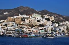λιμένας naxos νησιών στοκ φωτογραφία με δικαίωμα ελεύθερης χρήσης