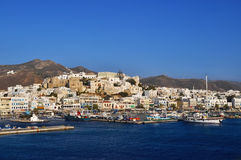 λιμένας naxos νησιών Στοκ φωτογραφίες με δικαίωμα ελεύθερης χρήσης