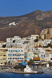 λιμένας naxos νησιών Στοκ Εικόνες