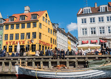 Λιμένας Nyhavn στο αριθ. 17 Στοκ Εικόνες