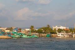 Λιμένας Phu Quoc, Βιετνάμ στοκ εικόνες με δικαίωμα ελεύθερης χρήσης