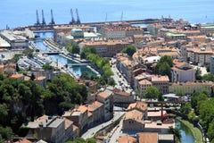 Λιμένας Rijeka στοκ φωτογραφία με δικαίωμα ελεύθερης χρήσης