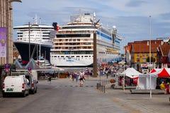 λιμένας Stavanger της Νορβηγίας Στοκ Φωτογραφία