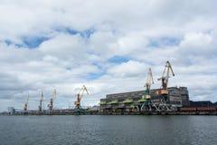 Λιμένας Ventspils Στοκ Εικόνες