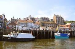 Λιμενικά σκάφη Whitby Στοκ φωτογραφία με δικαίωμα ελεύθερης χρήσης