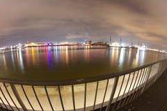 Λιμενικά φω'τα Στοκ εικόνα με δικαίωμα ελεύθερης χρήσης