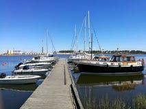 Λιμενικές βάρκες Στοκ Εικόνα
