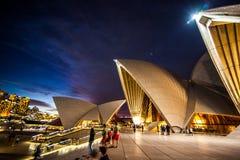 Λιμενικές γέφυρα και Όπερα του Σύδνεϋ Στοκ Φωτογραφία