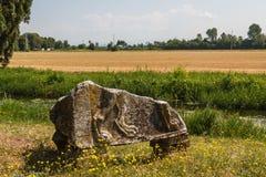 Λιμενικές καταστροφές στην αρχαία πόλη Aquileia Στοκ Εικόνα