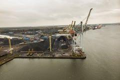 Λιμενική αποβάθρα σε Swinoujscie Στοκ εικόνες με δικαίωμα ελεύθερης χρήσης