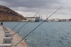 Λιμενική αλιεία Στοκ εικόνες με δικαίωμα ελεύθερης χρήσης