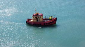 Λιμενική βάρκα σε Hirtshals Στοκ φωτογραφία με δικαίωμα ελεύθερης χρήσης