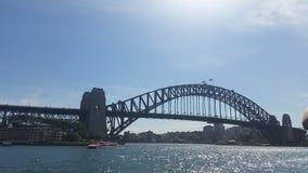 Λιμενική γέφυρα του Σίδνεϊ στην ημέρα στοκ φωτογραφία με δικαίωμα ελεύθερης χρήσης