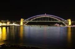 Λιμενική γέφυρα του Σίδνεϊ Στοκ Εικόνες
