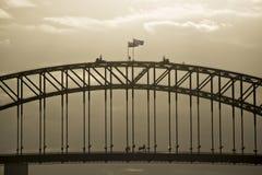 Λιμενική γέφυρα του Σίδνεϊ Στοκ εικόνα με δικαίωμα ελεύθερης χρήσης