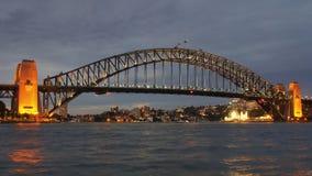 Λιμενική γέφυρα του Σίδνεϊ Στοκ εικόνες με δικαίωμα ελεύθερης χρήσης