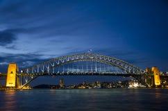 Λιμενική γέφυρα του Σύδνεϋ Στοκ Φωτογραφία