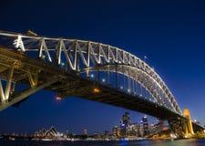 Λιμενική γέφυρα του Σύδνεϋ Στοκ Εικόνες