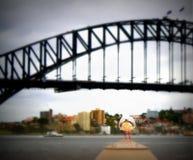 Λιμενική γέφυρα του Σύδνεϋ Στοκ Φωτογραφίες