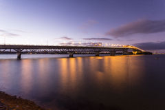 Λιμενική γέφυρα του Ώκλαντ Στοκ εικόνες με δικαίωμα ελεύθερης χρήσης