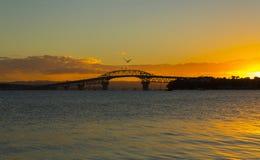 Λιμενική γέφυρα Ώκλαντ Στοκ Φωτογραφίες