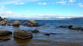Λιμενική παραλία άμμου Στοκ φωτογραφία με δικαίωμα ελεύθερης χρήσης