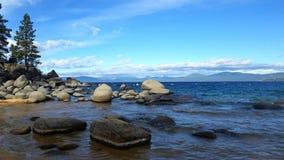 Λιμενική παραλία άμμου Στοκ φωτογραφίες με δικαίωμα ελεύθερης χρήσης