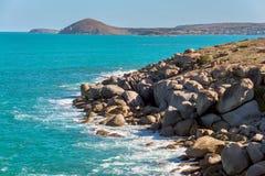 Λιμενική παραλία του Victor Στοκ εικόνες με δικαίωμα ελεύθερης χρήσης