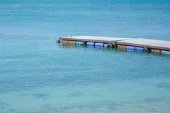 Λιμενική παραλία Στοκ φωτογραφία με δικαίωμα ελεύθερης χρήσης