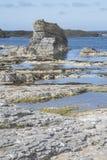 Λιμενική παραλία Ballintoy  Κομητεία Antrim  Βόρεια Ιρλανδία Στοκ εικόνες με δικαίωμα ελεύθερης χρήσης