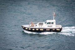 Λιμενική πειραματική βάρκα στοκ φωτογραφία με δικαίωμα ελεύθερης χρήσης
