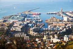 λιμενική πόλη ακρωτηρίων Στοκ Εικόνα