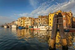 Λιμενική ταυτότητα 41636438 Chioggia Στοκ Εικόνες