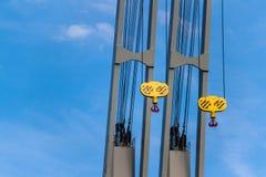Λιμενικοί γερανοί Στοκ φωτογραφία με δικαίωμα ελεύθερης χρήσης