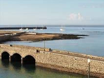 Λιμενικοί τοίχοι και βάρκες Arrecife, Lanzarote Στοκ εικόνα με δικαίωμα ελεύθερης χρήσης